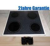 Privileg GK34000W Glaskeramik Kochfeld  55CAD43ZO.Weiß.Gepflegt.GK 3400