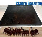 Ariston PV12 Kochfeld m. Schott Ceran® Fläche.Schwarzer Rahmen.