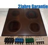 Vorwerk KM410 Glaskeramik Kochfeld mit Schott Ceran®Fläche.7Takt.Braun.