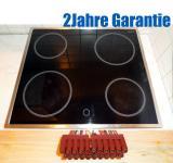 Zanussi ZK 64 X Glaskeramik Kochfeld.Edelstahl.7Takt+Restwärmeanzeige ahnlich EHC641X