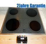 Privileg GK34000E Glaskeramik Kochfeld  55CAD43ZO.Edelstahl.Gepflegt.GK 3400