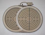 Ceramaspeed 190-285-254 S Bräterzone Strahlheizkörper 28,5cmx19cm Heizung