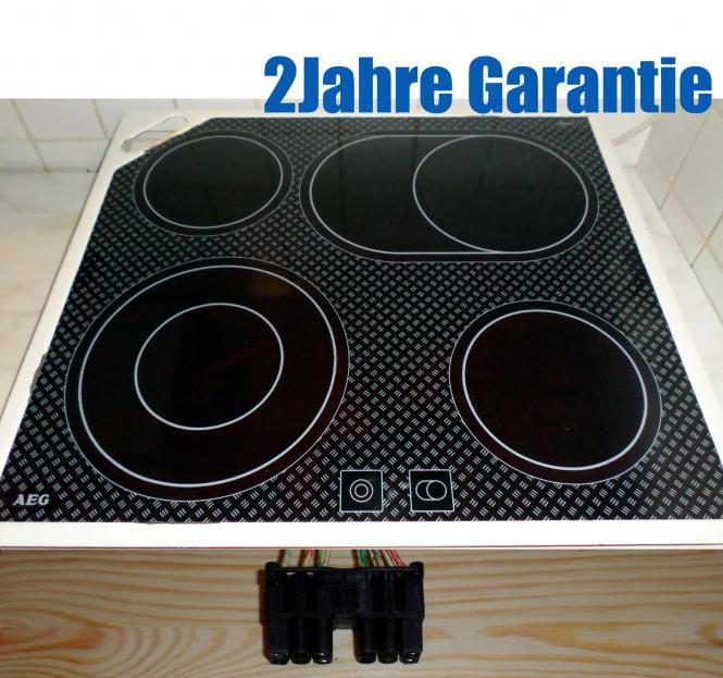 aeg 55aad04zo glaskeramik kochfeld modell 6130 m wr wei. Black Bedroom Furniture Sets. Home Design Ideas