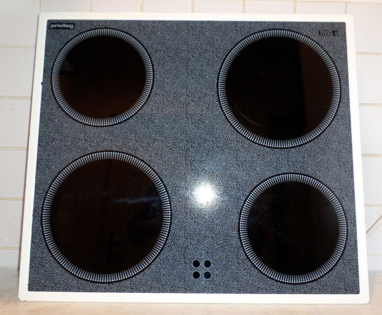 privileg gk34000 w glaskeramik kochfeld typ 55cad43zo vom. Black Bedroom Furniture Sets. Home Design Ideas
